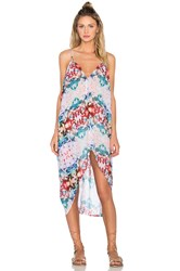 6 Shore Road Carnival Cover Up Dress Blue
