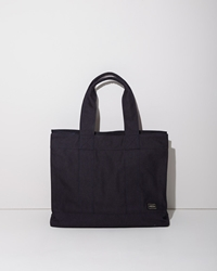 Porter Canvas Tote Blue