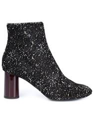 Proenza Schouler Marled Ankle Boots Black