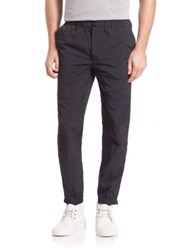 Alexander Wang Solid Elastic Waist Sweatpants Black