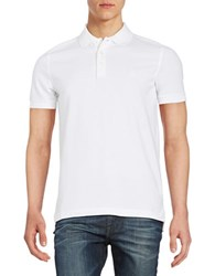 Brooks Brothers Embroidered Polo Shirt White