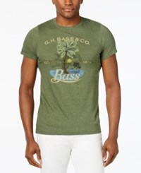 G.H. Bass And Co. Graphic T Shirt Seaspray