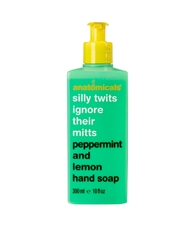 Anatomicals Silly Twits Ignore Their Mitts Spearmint And Lemon Hand Soap 300Ml Spearmintlemon