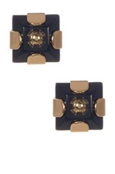 Marc By Marc Jacobs Kandi Square Stud Earrings Black