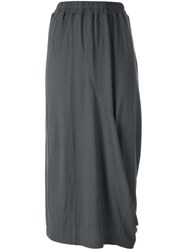 Rundholz Maxi Jersey Skirt Grey