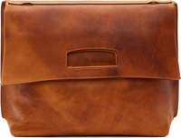 Maison Martin Margiela Tan Leather Fold Down Messenger