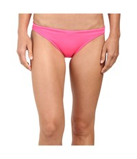 Tyr Solids Bikini Bottom Pink Women's Swimwear