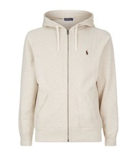 Polo Ralph Lauren Fleece Lined Logo Hoody Male Grey