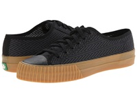 Pf Flyers Center Lo Zig Zag Black Canvas Men's Lace Up Casual Shoes