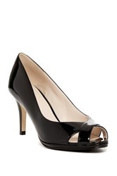 Cole Haan Lena Open Toe Pump Ii Black