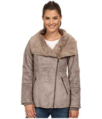 Prana Lilith Jacket Earth Grey Women's Coat Brown