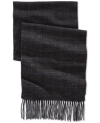 Club Room Plaid Cashmere Scarf Only At Macy's Purple