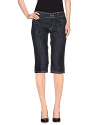 Escada Sport Denim Denim Bermudas Women Blue