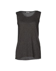 Le Ragazze Di St. Barth Sleeveless Sweaters Lead