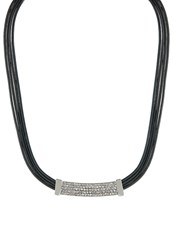 Sweet Deluxe Amela Necklace Silvercoloured Grey
