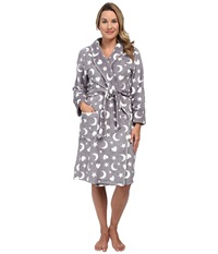 P.J. Salvage Printed Robes Celestial Grey Women's Robe Gray