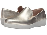 Fitflop Superskate Pale Gold Women's Clog Mule Shoes