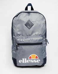 Ellesse Packaway Backpack Grey