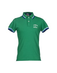 Franklin And Marshall Topwear Polo Shirts Men Green