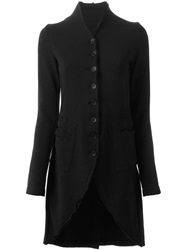 Thom Krom Long Buttoned Jacket Black
