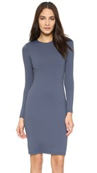 Susana Monaco Emma Long Sleeve Dress Charcoal
