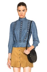 Citizens Of Humanity Josie Top In Blue