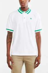 Boast French Terry Polo Shirt White