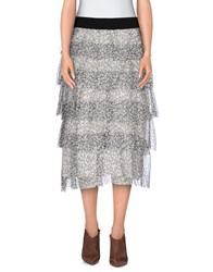 Twenty Easy By Kaos Skirts 3 4 Length Skirts Women Light Grey