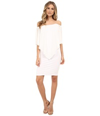 Gabriella Rocha Chiffon Nalah Dress White Women's Dress
