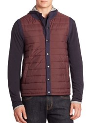Barbour Cotton Blend Quilted Jacket Midnight Blue
