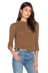 John And Jenn By Line Misha Crew Neck Sweater Brown