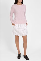 Paul Joe Sister Women S Peplum Back Sweater Boutique1 Pink