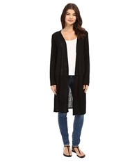 Culture Phit Aurelie Long Sleeve Cardigan Black Women's Sweater