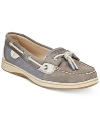Sperry Dunefish Boat Shoes Women's Shoes Smoked Grey