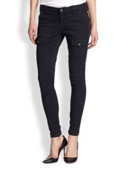 Joie So Real Skinny Cargo Pants Navy
