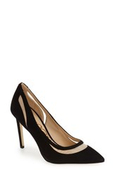 Sam Edelman Women's 'Nixon' Pointy Toe Pump Black Suede