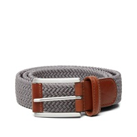Andersons Anderson's Woven Textile Belt Light Grey
