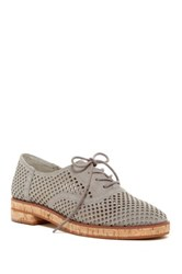 Vince Camuto Salisa Perforated Oxford Gray