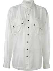 Faith Connexion Loose Fit Shirt White
