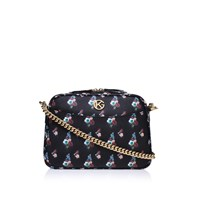 Kurt Geiger Saffiano Plum Cross Body Black Other