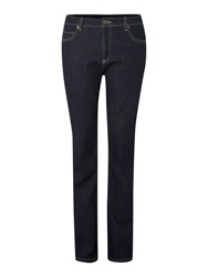 Biba High Waisted Straight Leg Kiri Jeans Indigo