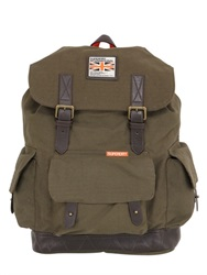 Superdry Cotton Canvas Backpack