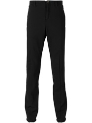 Individual Sentiments Zipped Ankles Trousers Black