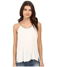 Bench Puntamango Top White Women's Clothing