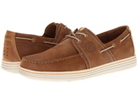 Dunham Chace Tan Men's Lace Up Moc Toe Shoes