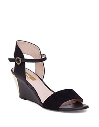 Louise Et Cie Kami 1 Wedge Sandals Black