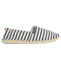 Havaianas Navy Striped With Blue And Beige Origine Espadrilles