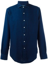Polo Ralph Lauren Denim Button Down Shirt Blue