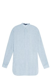 Tibi Gauze Shirt Grey