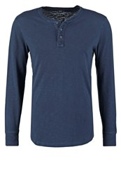 Gap Long Sleeved Top New Classic Navy Dark Blue